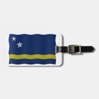 Curaçao señala por medio de una bandera etiquetas maleta