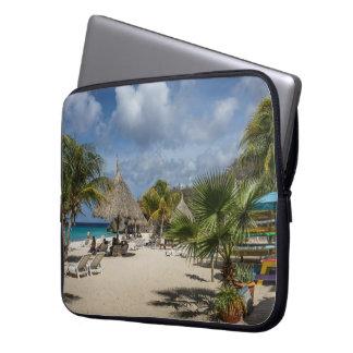 Curaçao vara en la manga del ordenador portátil funda portátil