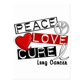 CURACIÓN 1 del AMOR de la PAZ del cáncer de pulmón Postal