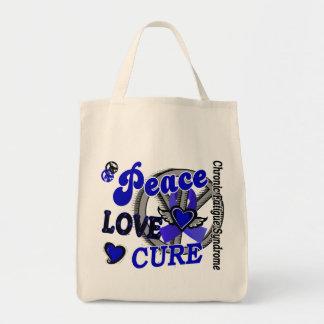 Curación 2 CFS del amor de la paz Bolsas