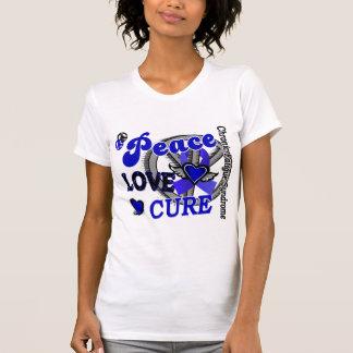 Curación 2 CFS del amor de la paz Camisetas
