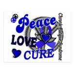 Curación 2 CFS del amor de la paz Postales