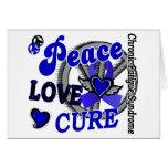 Curación 2 CFS del amor de la paz Tarjeton