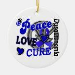 Curación 2 Dysautonomia del amor de la paz Adorno