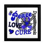 Curación 2 Dysautonomia del amor de la paz Caja De Recuerdo