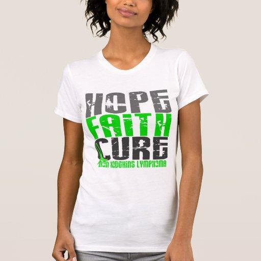 CURACIÓN de FE de la ESPERANZA del linfoma Non-Hod Camiseta