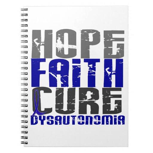 Curación de fe de la esperanza Dysautonomia Libros De Apuntes