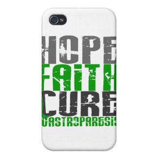 Curación de fe de la esperanza Gastroparesis iPhone 4 Protectores