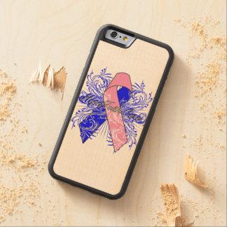 Curación de fe masculina de la esperanza del funda de iPhone 6 bumper arce