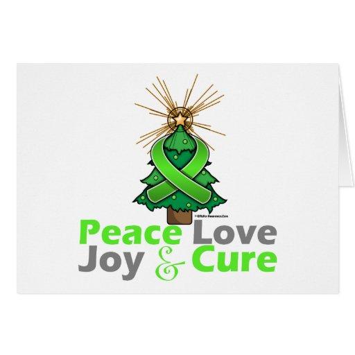 Curación de la alegría del amor de la paz de la en felicitación