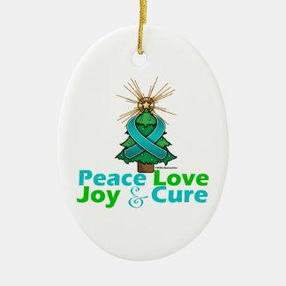 Curación de la alegría del amor de la paz del cánc ornatos