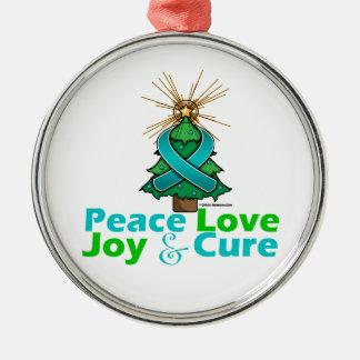 Curación de la alegría del amor de la paz del cánc adorno