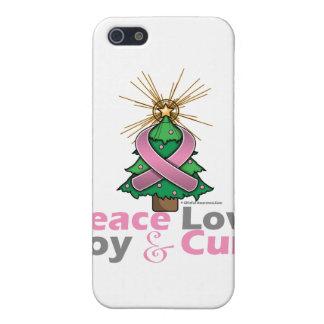 Curación de la alegría del amor de la paz del cánc iPhone 5 fundas