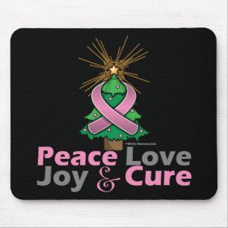Curación de la alegría del amor de la paz del cánc tapete de raton