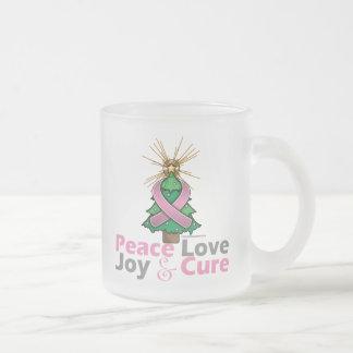 Curación de la alegría del amor de la paz del cánc taza de café