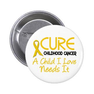 CURACIÓN de la conciencia del cáncer de la niñez Pins