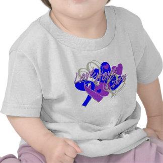 Curación de la esperanza del amor de la artritis camiseta