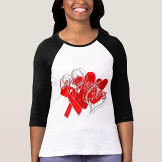 Curación de la esperanza del amor de la enfermedad camisetas