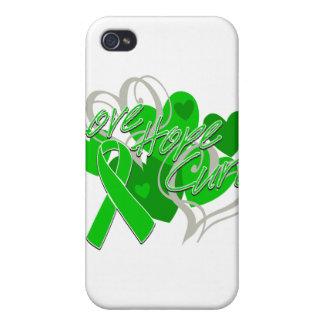 Curación de la esperanza del amor de lesión de la iPhone 4 cárcasa