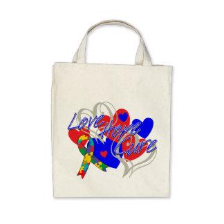Curación de la esperanza del amor del autismo bolsas