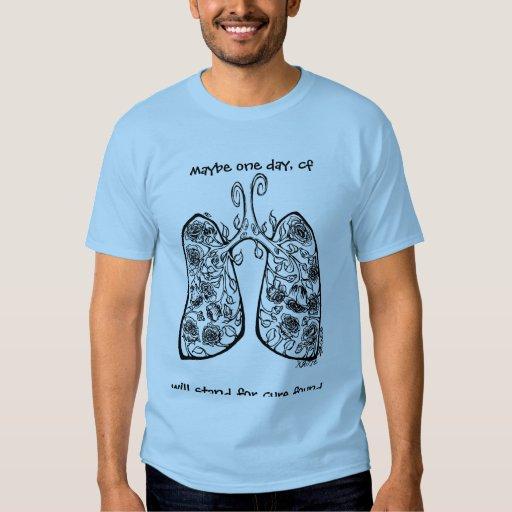 Curación de los pulmones y de los rosas de los CF Playera
