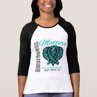 Curación del abogado de la ayuda - cáncer ovárico camiseta