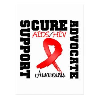 Curación del abogado de la ayuda del VIH del SIDA Postal