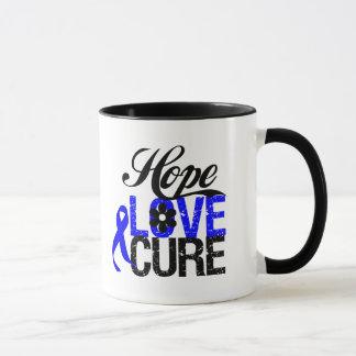 Curación del amor de la esperanza - cáncer anal taza