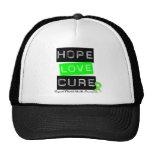 Curación del amor de la esperanza - conciencia de  gorras