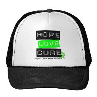 Curación del amor de la esperanza - conciencia de  gorras de camionero