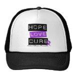 Curación del amor de la esperanza de la enfermedad gorro