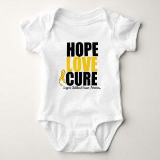 Curación del amor de la esperanza del cáncer de la playera