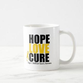 Curación del amor de la esperanza del cáncer de la taza clásica