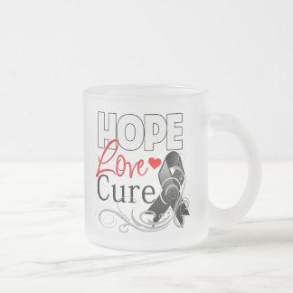 Curación del amor de la esperanza del cáncer de pi tazas