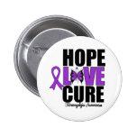 Curación del amor de la esperanza del Fibromyalgia Pins