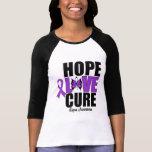 Curación del amor de la esperanza del lupus camiseta