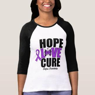Curación del amor de la esperanza del lupus playeras