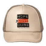 Curación del amor de la esperanza del melanoma gorro