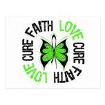 Curación del amor de la fe de la conciencia de la  tarjeta postal