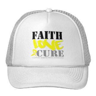 Curación del amor de la fe de la endometriosis gorra