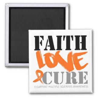 Curación del amor de la fe de la esclerosis múltip imán para frigorifico