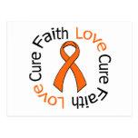 Curación del amor de la fe de la leucemia postal