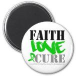 Curación del amor de la fe de la salud mental iman de nevera
