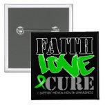 Curación del amor de la fe de la salud mental pin
