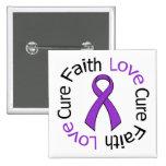 Curación del amor de la fe de Leiomyosarcoma Pins
