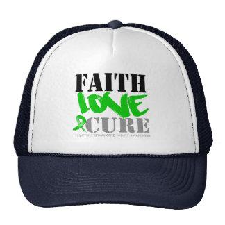 Curación del amor de la fe de lesión de la médula  gorro
