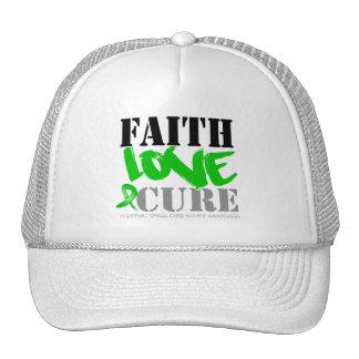 Curación del amor de la fe de lesión de la médula  gorra
