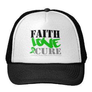Curación del amor de la fe de lesión de la médula  gorros bordados