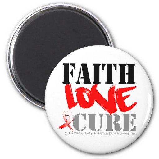 Curación del amor de la fe de los síndromes de Mye Imán Para Frigorifico
