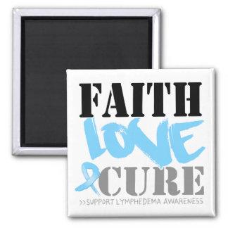 Curación del amor de la fe de Lymphedema Imán Para Frigorifico